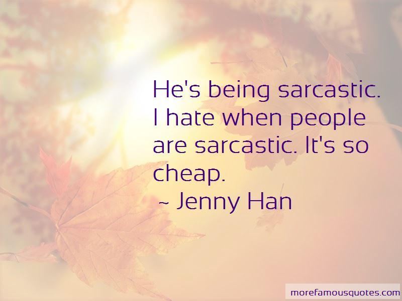 Sarcastic Hate Quotes