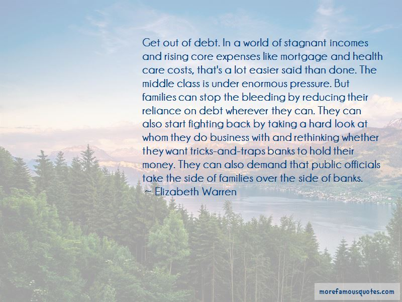 Stagnant Business Quotes