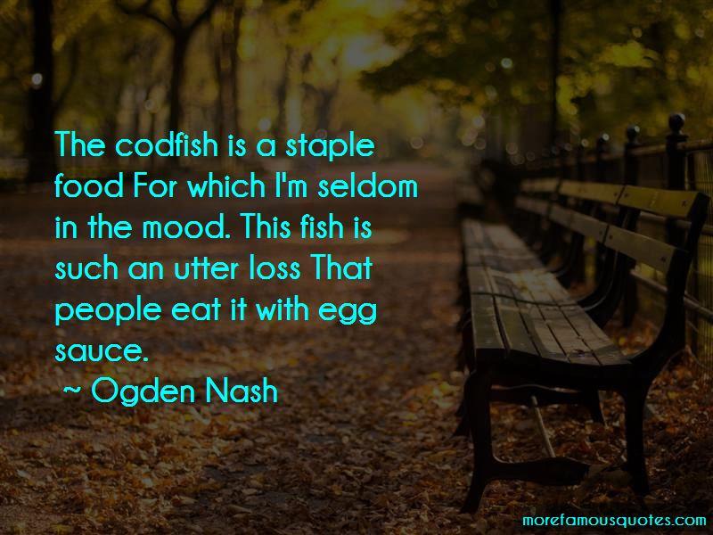 Staple Food Quotes