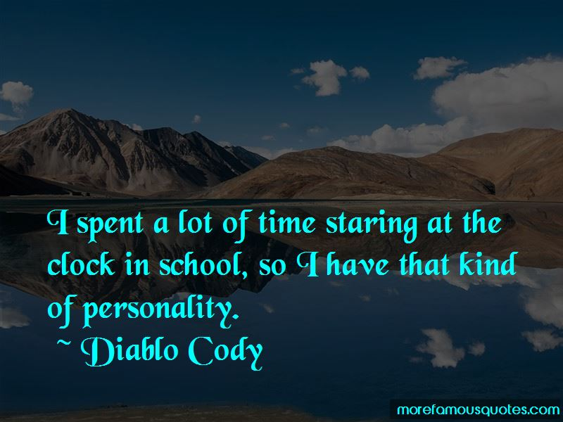 Staring At The Clock Quotes Pictures 2