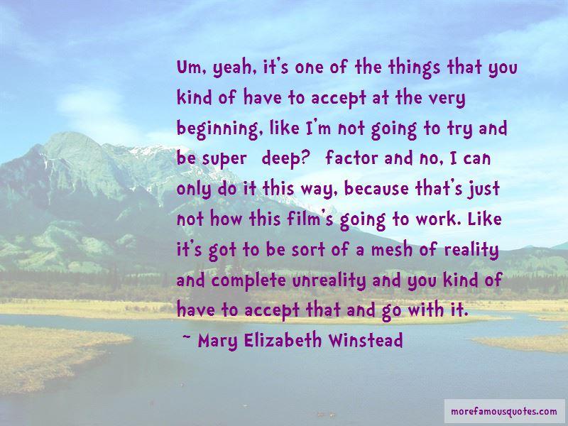 Super Deep Quotes