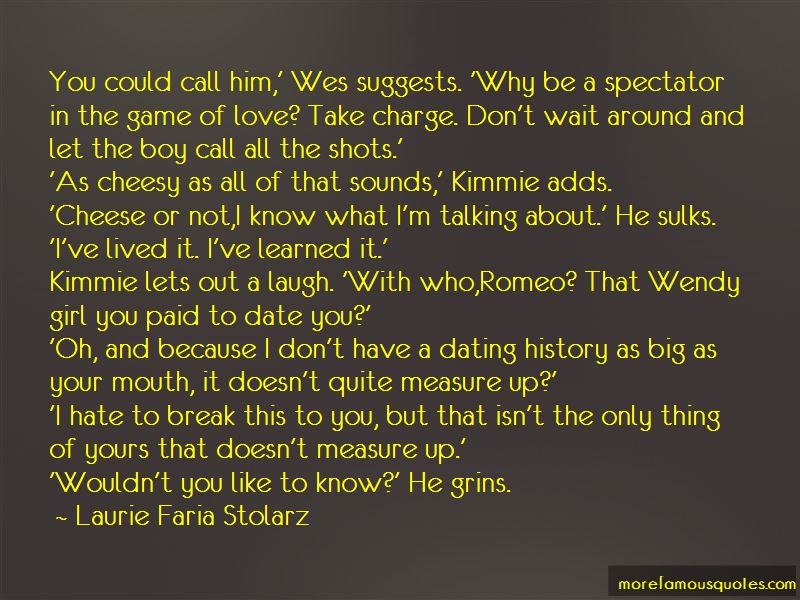 Talking But Not Dating Quotes