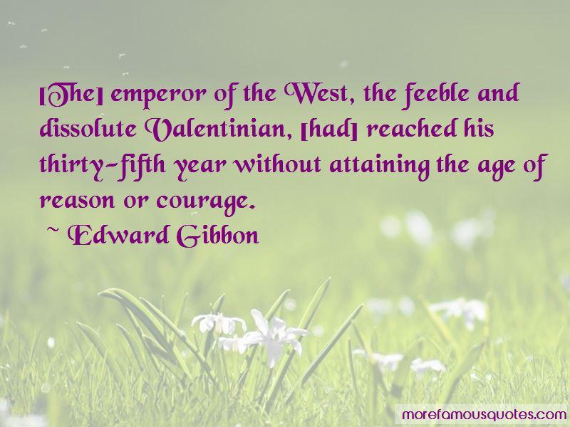 Valentinian I Quotes