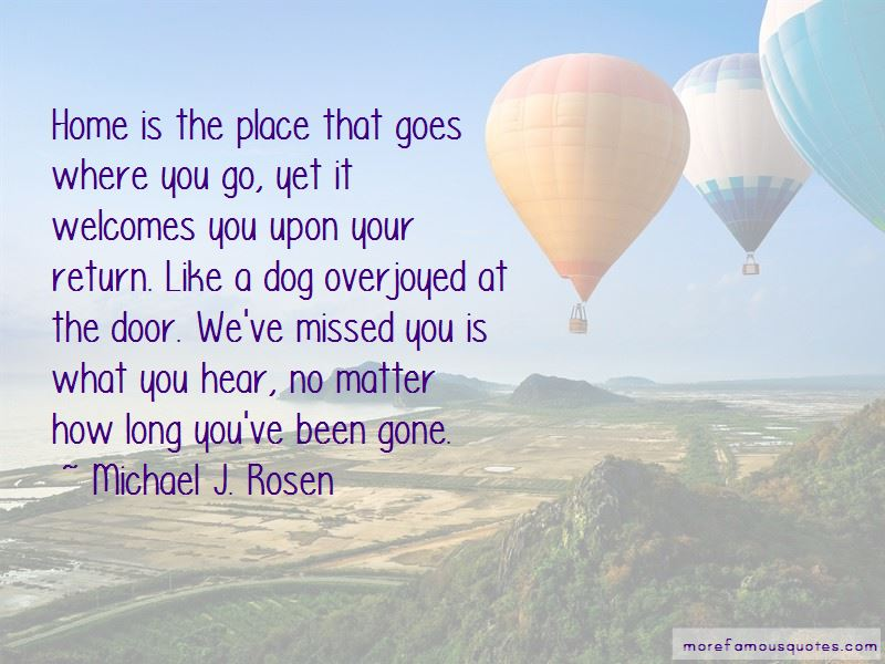 We've Missed You Quotes