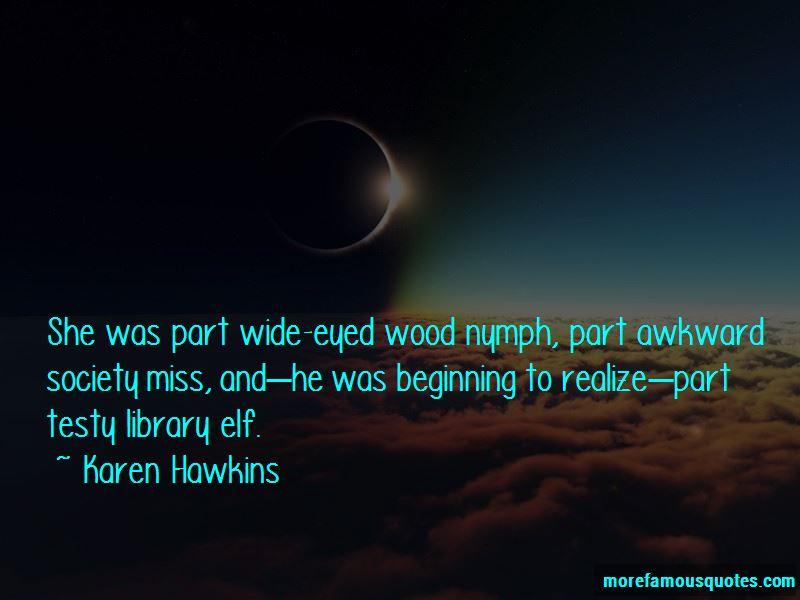 Wood Elf Quotes