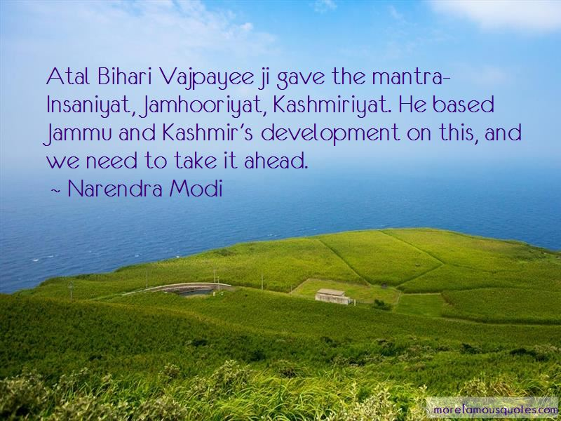 A B Vajpayee Quotes