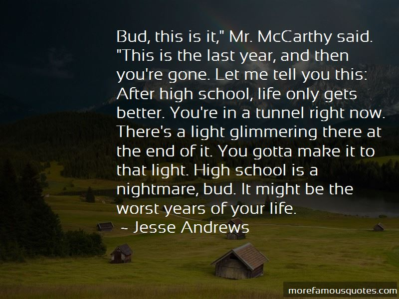 After High School Life Quotes