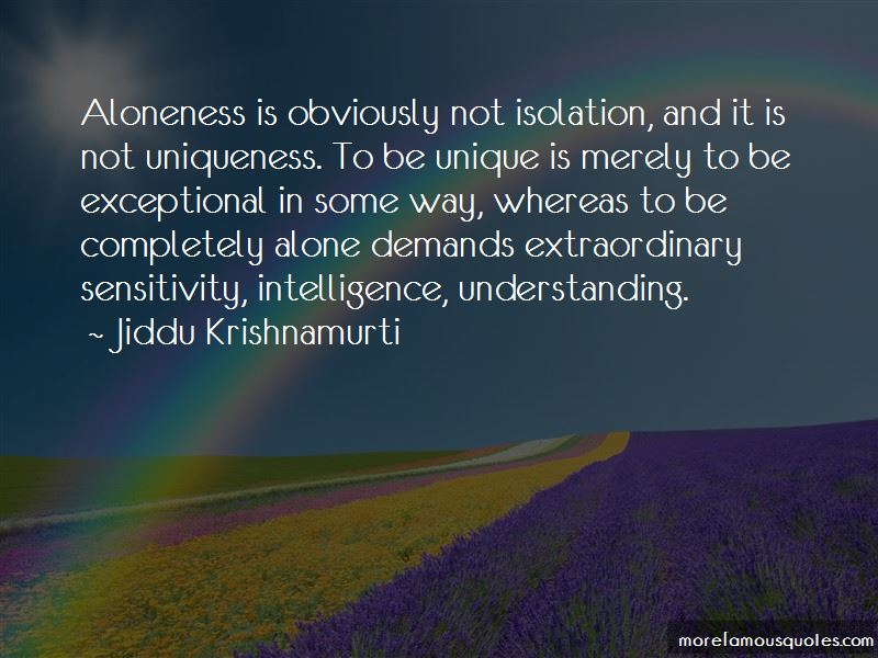 Aloneness Quotes