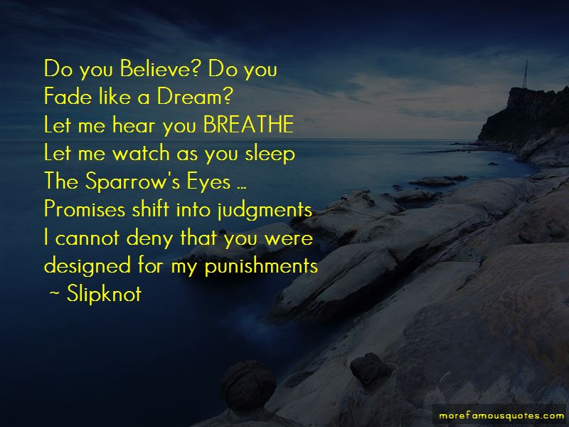 As You Sleep Quotes