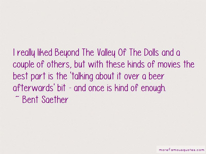 Beyond Valley Of The Dolls Quotes