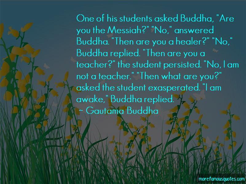 Buddha Teacher Quotes