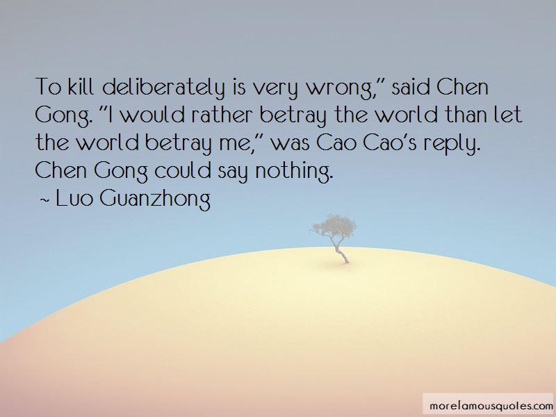 Cao Pi Quotes