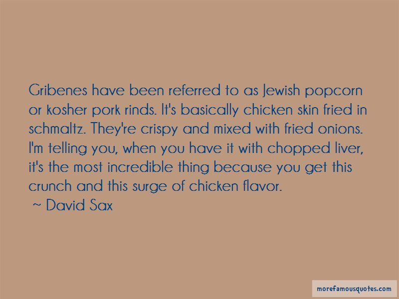 Chicken Liver Quotes
