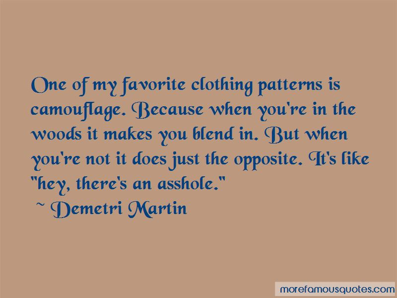 Clothing Patterns Quotes