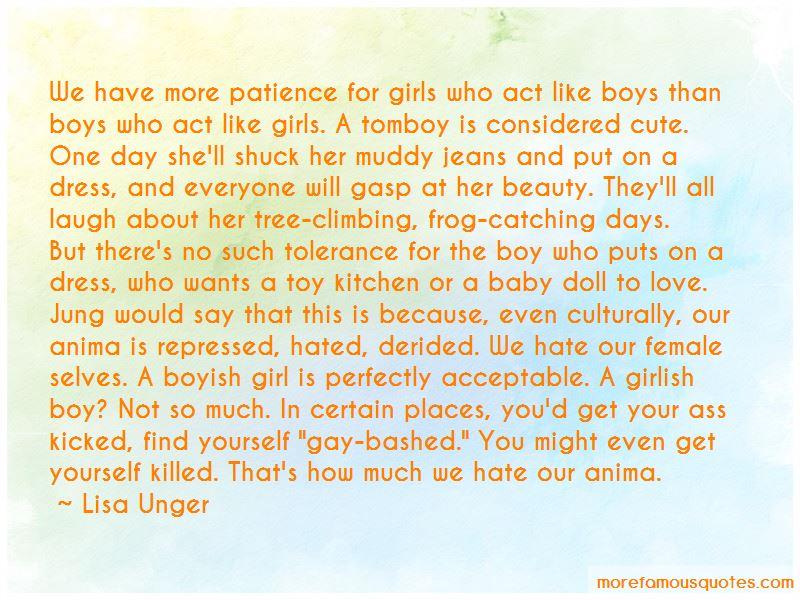 Cute Boyish Quotes