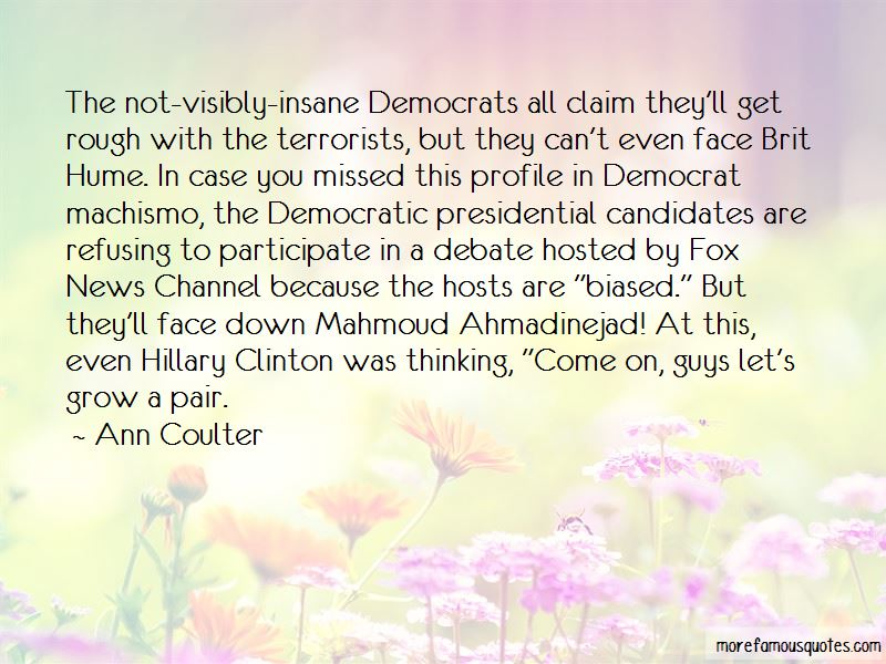 Democratic Presidential Debate Quotes Pictures 2
