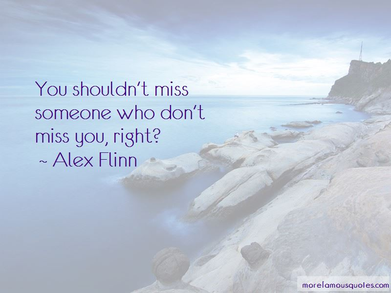 Don't Miss You Quotes