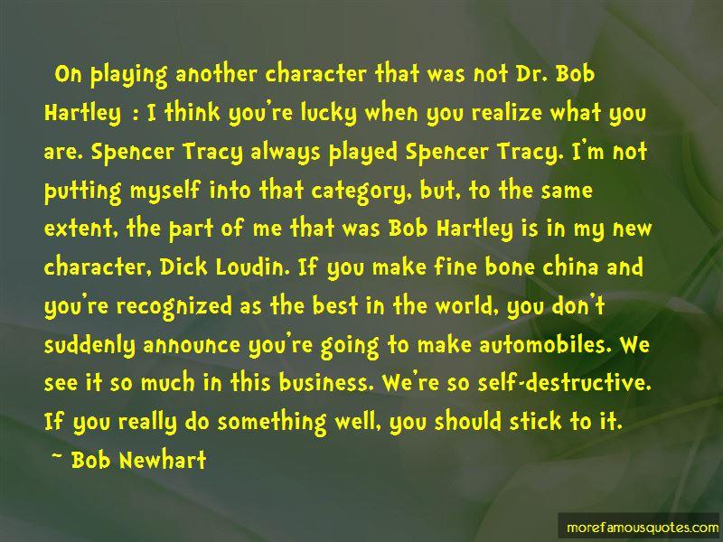 Dr Bob Hartley Quotes