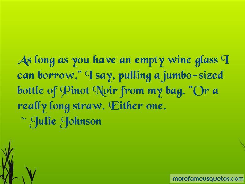 Empty Wine Glass Quotes