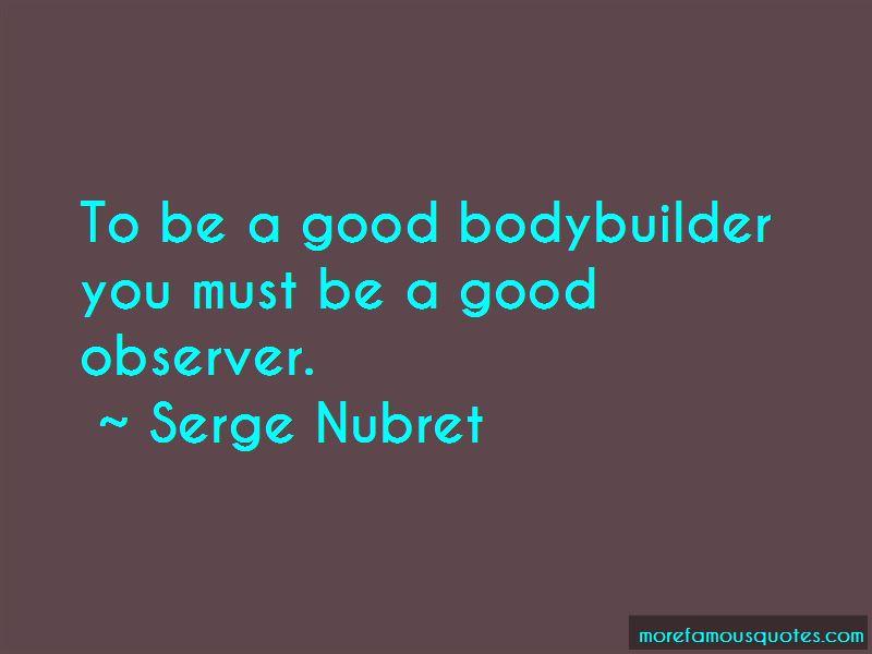 Good Bodybuilder Quotes