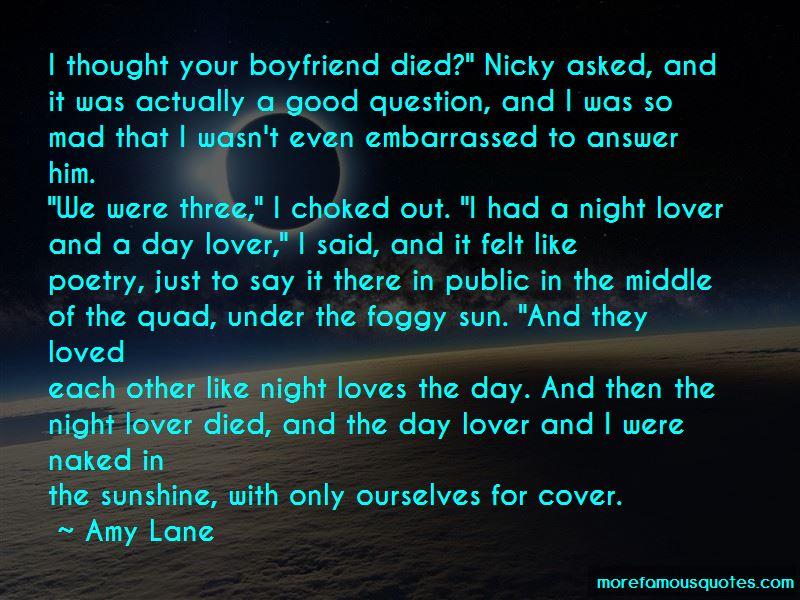 Good Night To My Boyfriend Quotes
