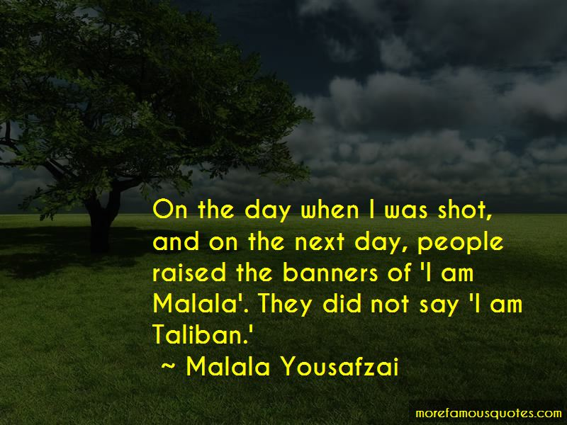 I Am Malala Taliban Quotes