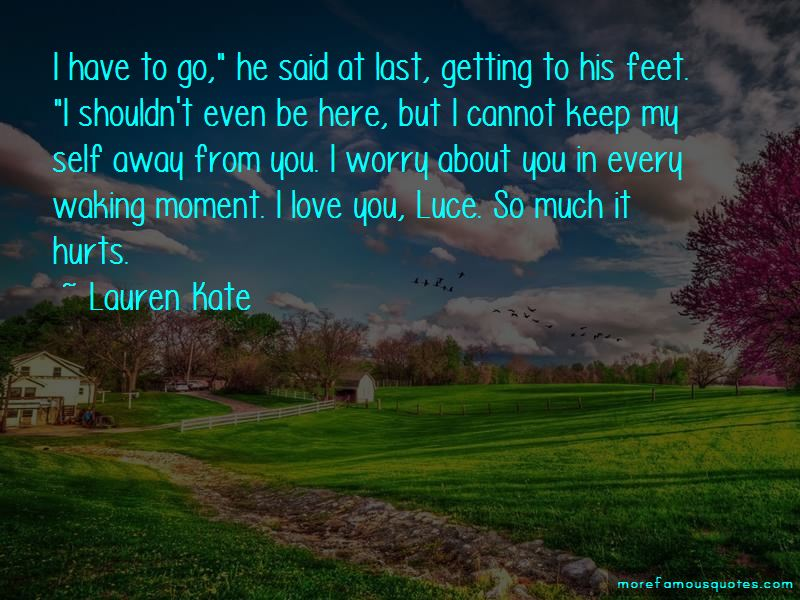 I Love You Even If It Hurts Quotes