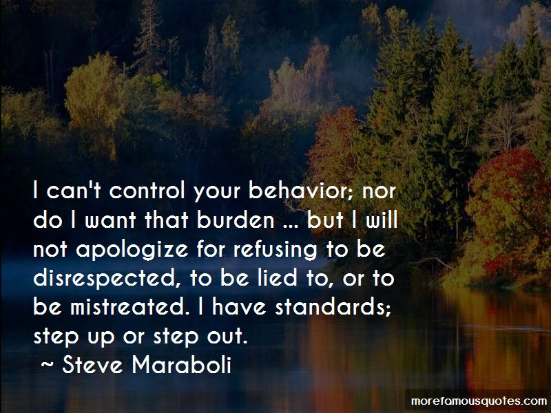 I Will Not Apologize Quotes