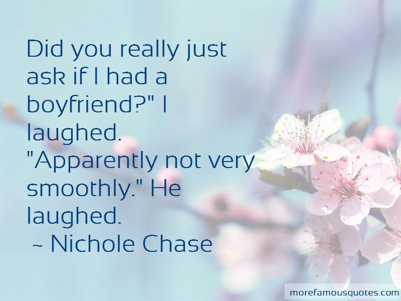 If I Had A Boyfriend Quotes