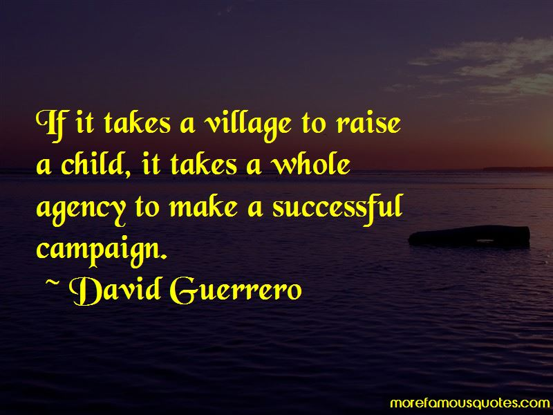 It Takes A Whole Village To Raise A Child Quotes Pictures 3