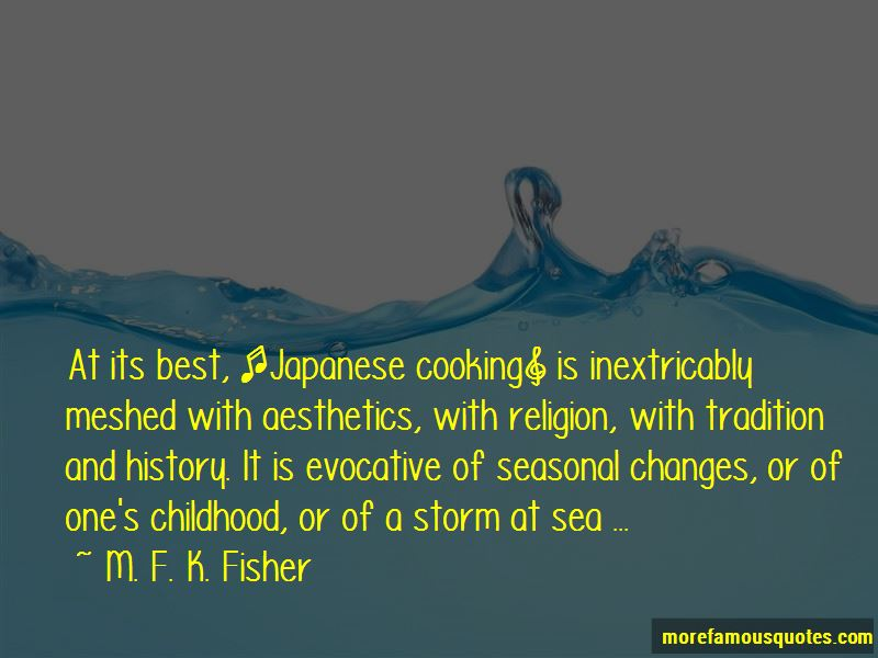 Japanese Cooking Quotes
