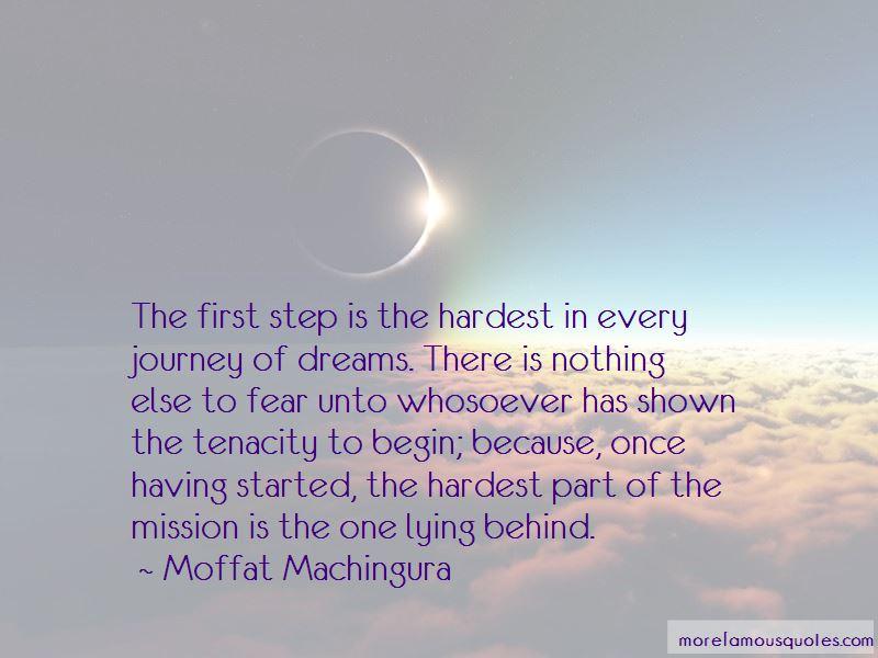 Journey Has Begin Quotes