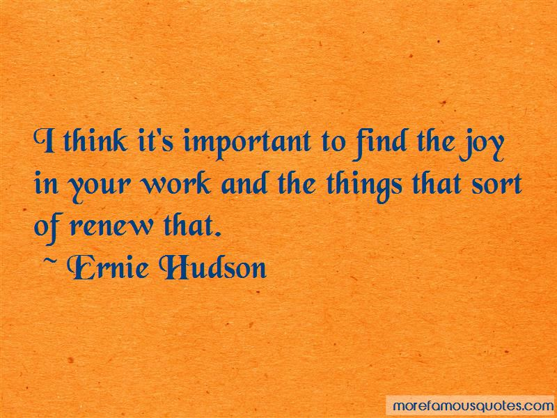 Joy In Your Work Quotes