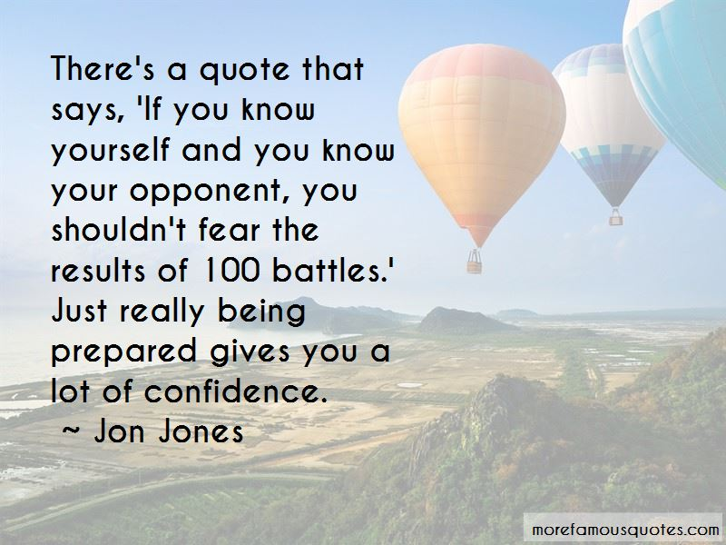 Know Your Opponent Quotes Pictures 3