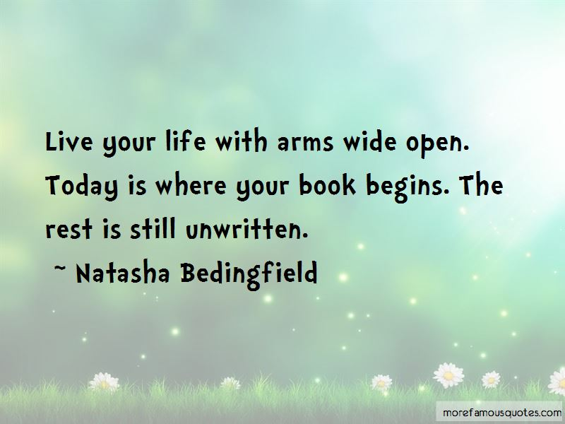 Life Begins Today Quotes