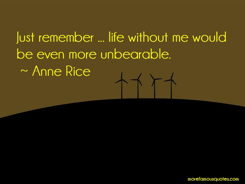 Life Without Me Quotes