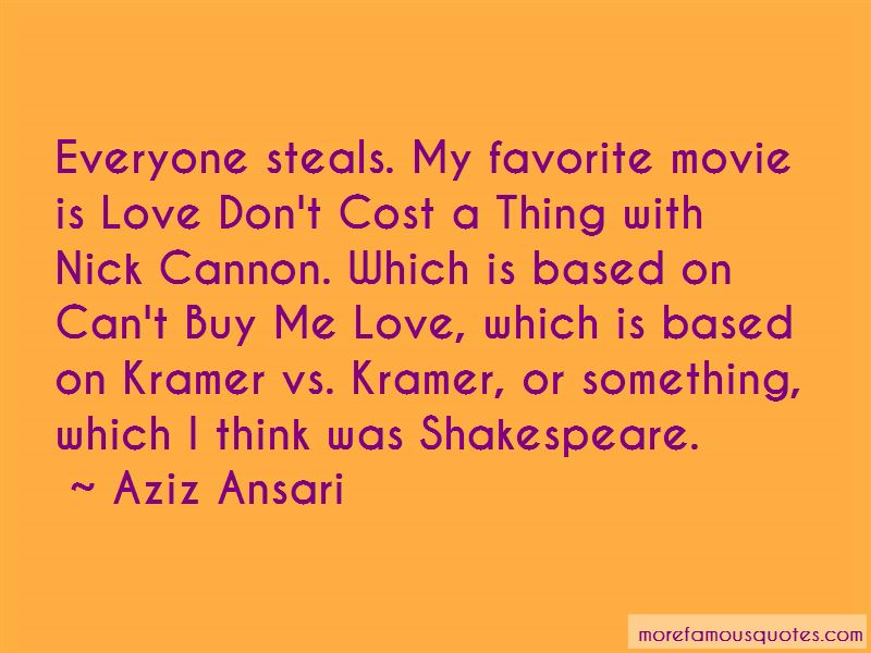 Love Don't Cost Quotes