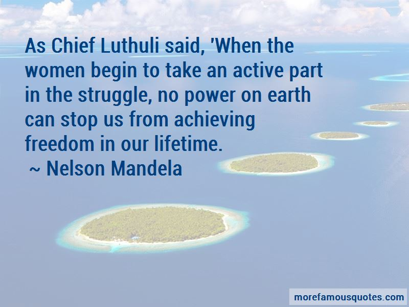 Luthuli Quotes
