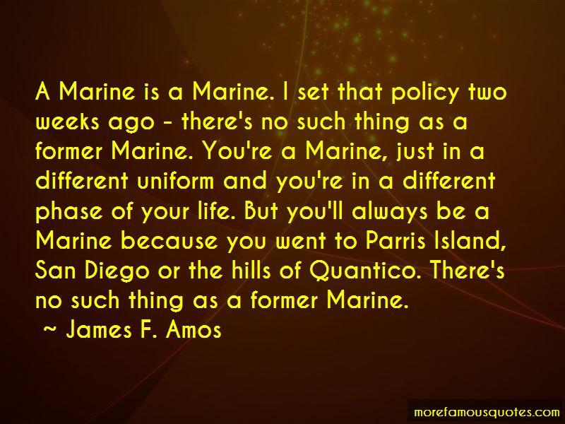 Marine Uniform Quotes