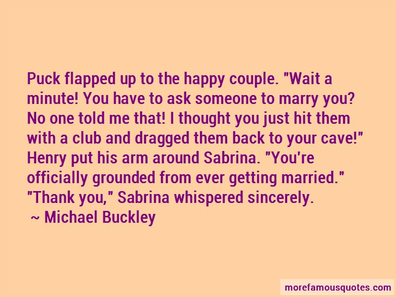 Marry Couple Quotes