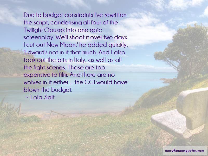 New Moon Film Quotes