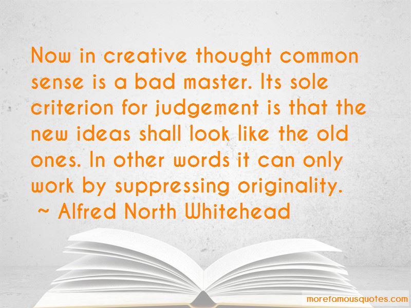 No Sense Of Originality Quotes