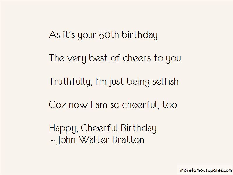 On Your 50th Birthday Quotes: top 6 quotes about On Your ...
