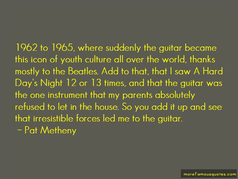 Quotes About A Hard Day's Night