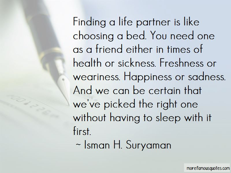 Quotes About A Life Partner Top 64 A Life Partner Quotes From