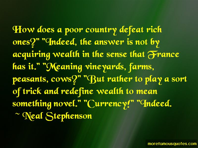 Quotes About Acquiring Wealth