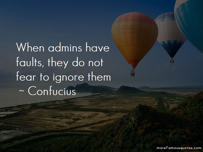 Quotes About Admins