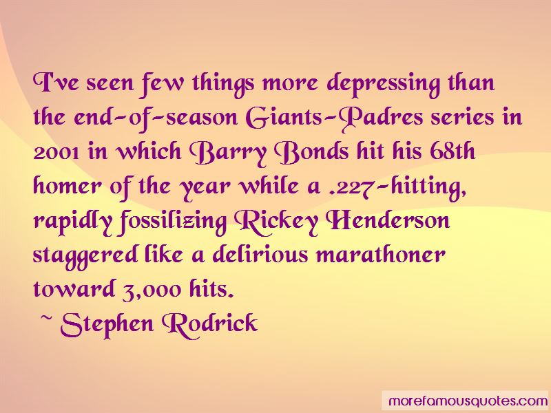 Quotes About Barry Bonds