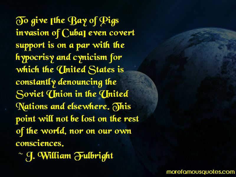 Quotes About Bay Of Pigs