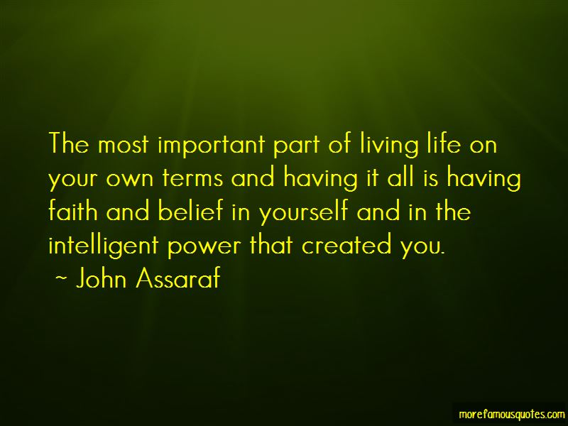 Quotes About Belief In Yourself